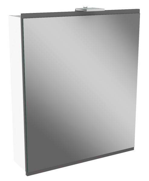 """Spiegelschrank """"Lima"""" Weiss/Basalt Grau 60cm breit von FACKELMANN"""