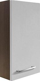 """Hängeschrank """"RONDO"""" Eiche Cognac/Weiss 35cm breit von FACKELMANN"""