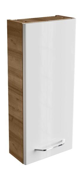 """Hängeschrank """"Milano"""" Ast-Eiche/Weiss 30 cm breit von FACKELMANN"""