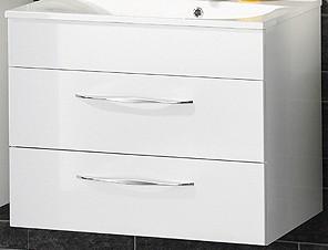 """Waschtisch-Unterschrank """"SCENO"""" Weiss 80 cm breit von FACKELMANN"""