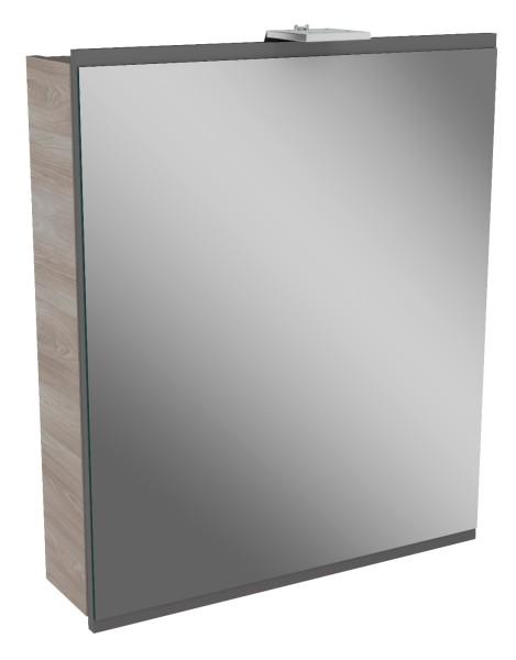 """Spiegelschrank """"Lima"""" Steinesche/Basalt Grau 60cm breit von FACKELMANN"""