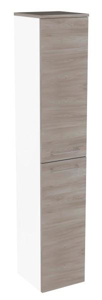"""Hochschrank """"Lima"""" Weiss/Steinesche 30,5 cm breit von FACKELMANN"""
