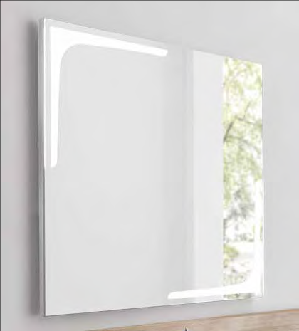 K1 Spiegelelement 90x80cm von Lanzet