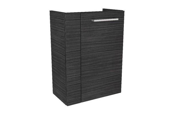 """Gäste-WC Waschtisch-Unterschrank """"LINO"""" Dark Oak 44 cm breit von FACKELMANN"""