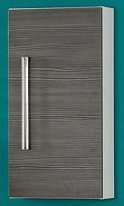 Hängeschrank Weiss/Pinie-Anthrazit 35 cm breit von FACKELMANN