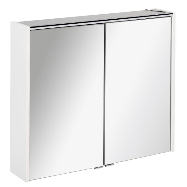 Spiegelschrank DENVER Weiß 80 cm breit von FACKELMANN