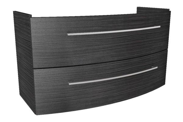 """Waschtisch-Unterschrank """"LINO"""" Dark Oak 106,5cm breit von FACKELMANN"""