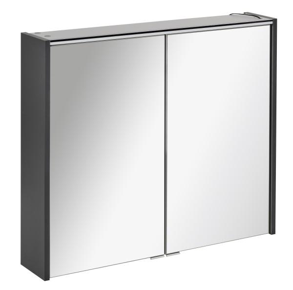 Spiegelschrank DENVER Anthrazit 80 cm breit von FACKELMANN