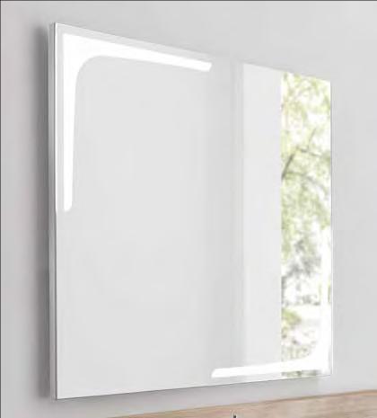 Blid zeigt Spiegel 90x80cm