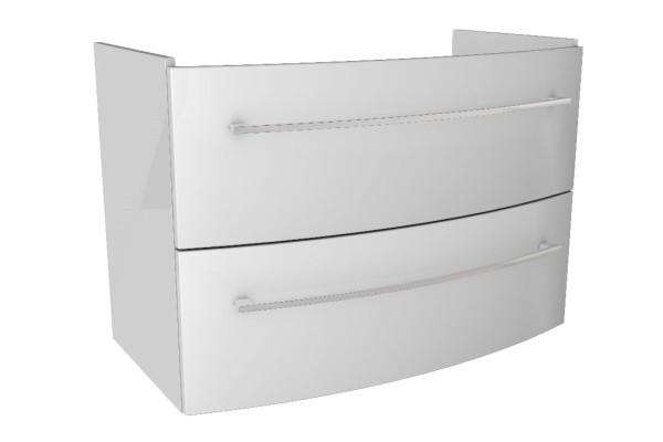 """Waschtisch-Unterschrank """"LINO"""" Weiß 85cm breit von FACKELMANN"""
