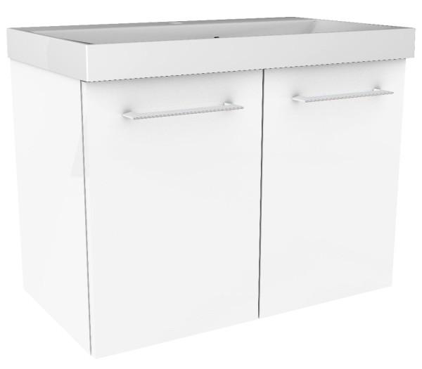 """Waschtisch-Unterschrank """"Lima"""" Weiss 60 cm breit von FACKELMANN"""
