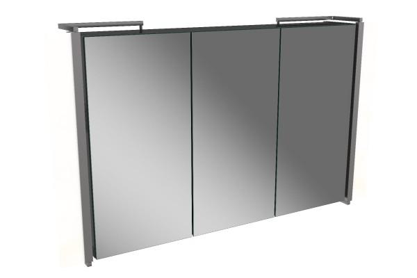 Spiegelschrank - Sidewing - 3 Türen, 90cm breit