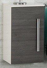 Unterschrank Weiss/Pinie-Anthrazit 36 cm breit von FACKELMANN