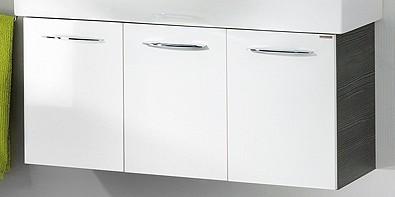 """Waschtisch-Unterschrank """"VADEA"""" Pinie-Anthrazit/Weiss 94 cm breit von FACKELMANN"""