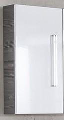Hängeschrank Pinie-Anthrazit/Weiss 35 cm breit von FACKELMANN