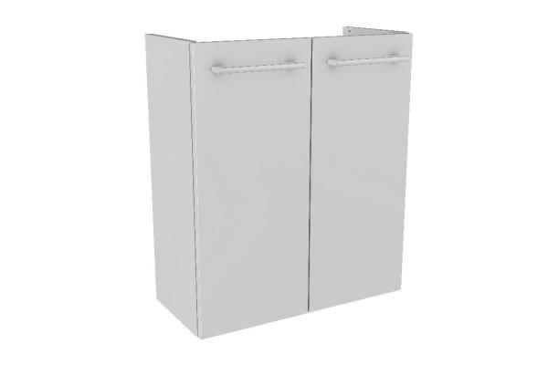 """Mini-Waschtisch-Unterschrank DS """"LINO"""" Weiß 52cm breit von FACKELMANN"""