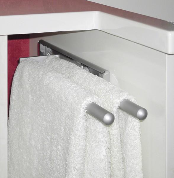 Handtuchhalter-Auszug Aluminium von FACKELMANN