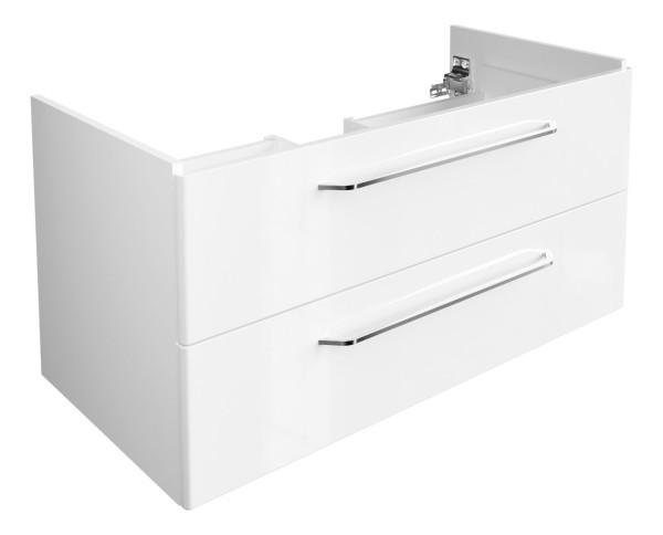 """Waschtisch-Unterschrank """"Milano"""" Weiss 100 cm breit von FACKELMANN"""