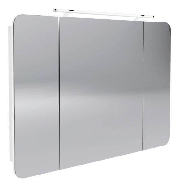 """Spiegelschrank """"Milano"""" Weiss 110 cm breit von FACKELMANN"""