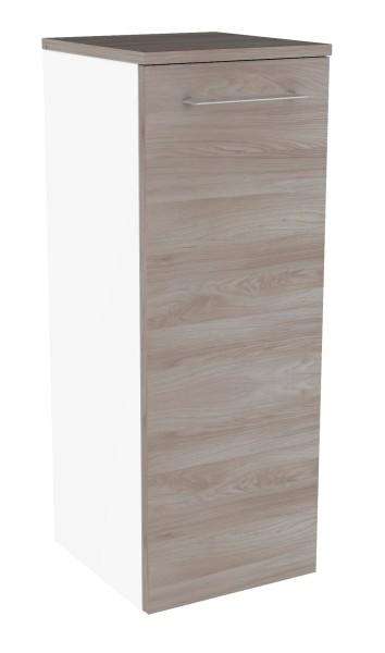 """Midischrank """"Lima"""" Weiss/Steinesche 30,5 cm breit von FACKELMANN"""