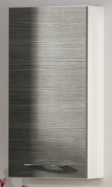 """Hängeschrank """"VADEA"""" Weiss/Pinie-Anthrazit 35 cm breit von FACKELMANN"""