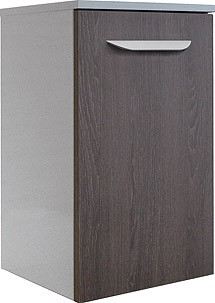 """Unterschrank """"LAVELLA"""" Weiss/Eiche Cognac 35,5cm breit von FACKELMANN"""