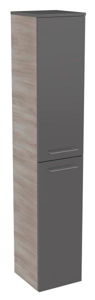 """Hochschrank """"Lima"""" Steinesche/Basalt Grau 30,5 cm breit von FACKELMANN"""