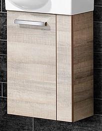 """Gäste-WC Waschtisch-Unterschrank """"A-VERO"""" Eiche 44 cm breit von FACKELMANN"""