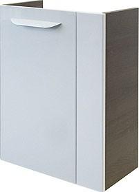 """Mini-Waschtisch-Unterschrank """"LAVELLA"""" Eiche Cognac/Weiss 44cm breit von FACKELMANN"""