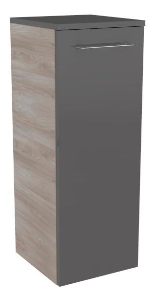 """Midischrank """"Lima"""" Steinesche/Basalt Grau 30,5 cm breit von FACKELMANN"""