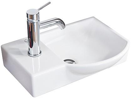 Gäste-WC Keramikbecken 45 cm breit von FACKELMANN