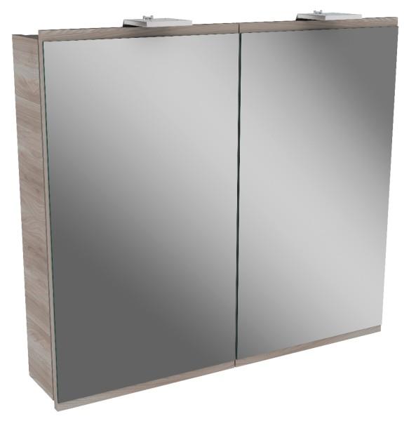 """Spiegelschrank """"Lima"""" Steinesche 80 cm breit von FACKELMANN"""