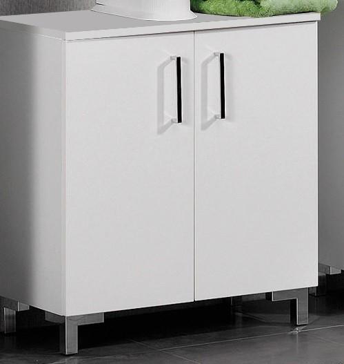 """Waschbecken-Unterschrank """"ATLANTA"""" Weiss 60 cm breit von FACKELMANN"""