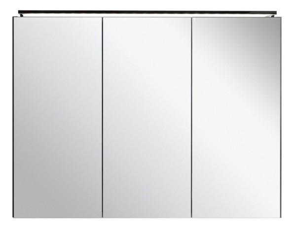 Spiegelschrank - Leuchte L5 - 3 Türen, 90cm breit
