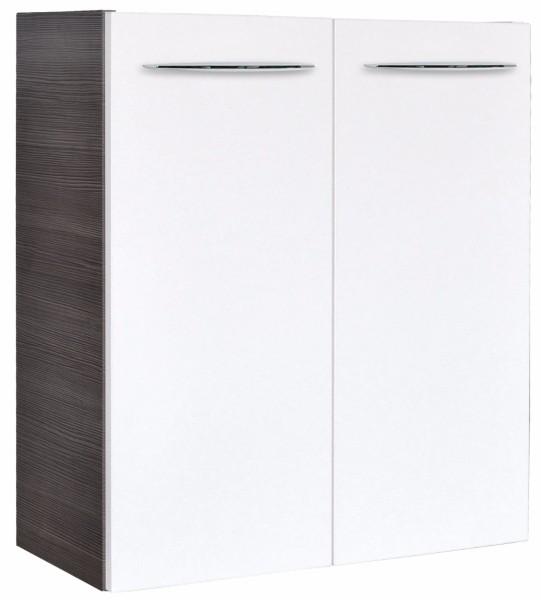 """Mini-Waschtisch-Unterschrank DS """"VADEA"""" Pinie-Anthrazit/Weiss 52cm breit von FACKELMANN"""