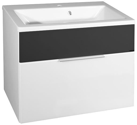 """Waschbeckenunterbau """"KARA"""" Bianco 80 cm breit von FACKELMANN"""