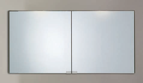 Spiegelschrank - Leuchte L5.1 - 2 Türen, 120cm breit
