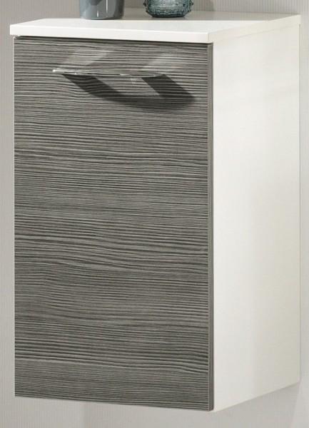 """Unterschrank """"VADEA"""" Weiss/Pinie-Anthrazit 36 cm breit von FACKELMANN"""