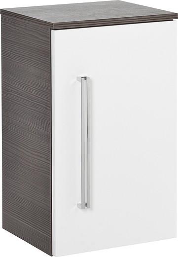 Unterschrank Pinie-Anthrazit/Weiss 36 cm breit von FACKELMANN
