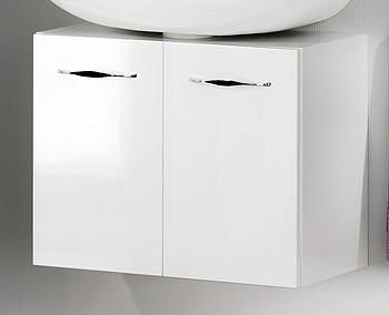 """Becken-Unterschrank """"SCENO"""" Weiss 60 cm breit von FACKELMANN"""