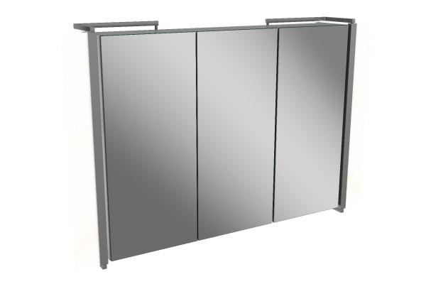 Spiegelschrank - Sidewing - 3 Türen, 80cm breit