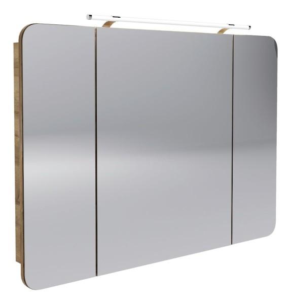 """Spiegelschrank """"Milano"""" Ast-Eiche 110 cm breit von FACKELMANN"""