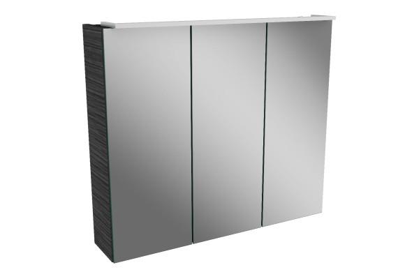 Spiegelschrank - Leuchte L5 - 3 Türen, 70cm breit