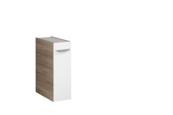 """Unterschrank """"Luxor"""" Steinesche/Weiß 20 cm breit von FACKELMANN"""