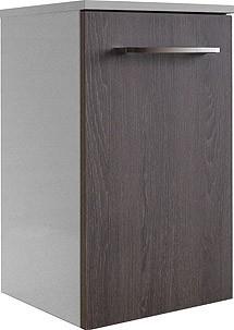 """Unterschrank """"RONDO"""" Weiss/Eiche Cognac 35,5cm breit von FACKELMANN"""