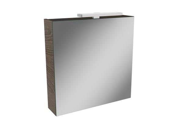 Spiegelschrank - Leuchte L2 LED - 1 Tür, 60cm Breit