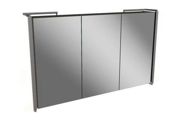 Spiegelschrank - Sidewing - 3 Türen, 100cm breit