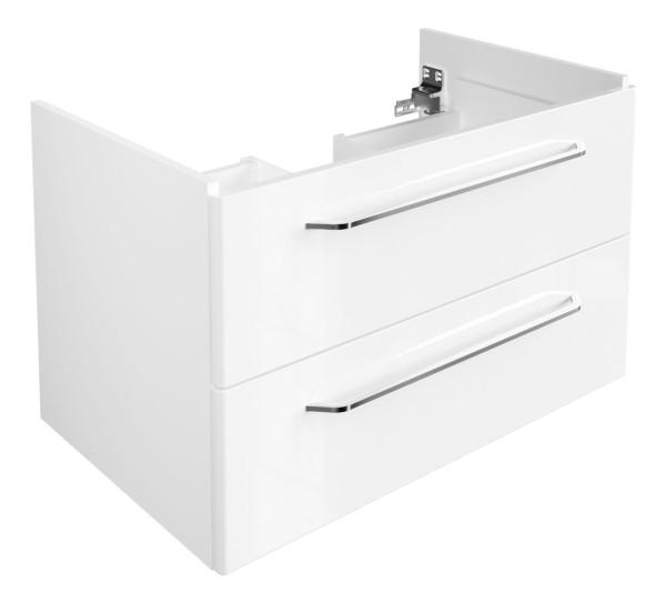 """Waschtisch-Unterschrank """"Milano"""" Weiss 80 cm breit von FACKELMANN"""
