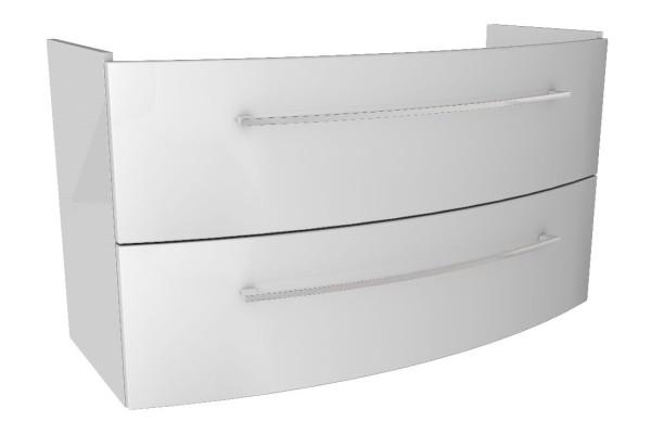 """Waschtisch-Unterschrank """"LINO"""" Weiß 106,5cm breit von FACKELMANN"""