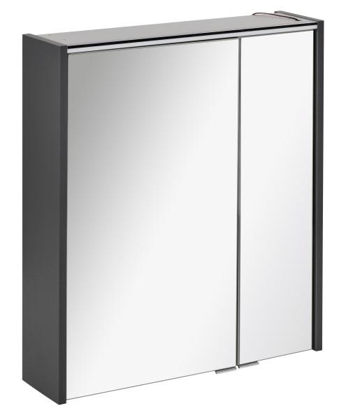 Spiegelschrank DENVER Anthrazit 60 cm breit von FACKELMANN